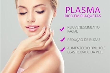 SESSÃO de PLASMA: 1,2 ou 3 Sessões com a MesoEstética Clínica Médica de Beleza nas Laranjeiras em Lisboa desde 105€.