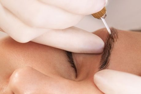 PhiBrows Microblading with Optional Top-Up or Eyelash Extensions at Lash Design London