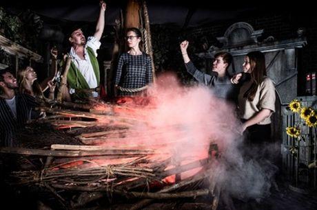 Tickets voor The Amsterdam Dungeon voor kinderen en volwassenen