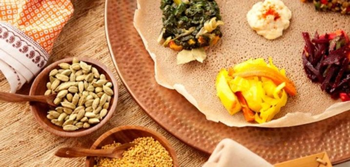 Ethiopian Cooking Class for Up to Four at Delina