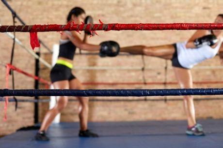 10- of 20-rittenkaart voor kickbokslessen, bodypump, bootcamp en andere trainingen bij Legendary Sports