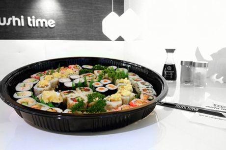 Sushiboxen met 20, 24 of 40 stuks om af te halen bij Sushi Time Amsterdam WTC