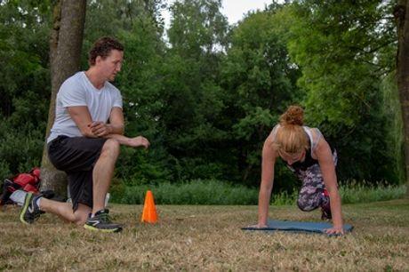Personal training bij BVK Sports op locaties in Blaricum en Huizen