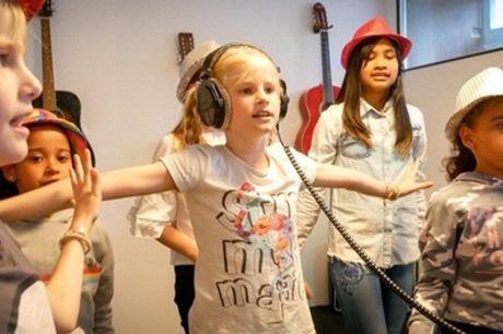 Een muzikaal kinderfeestje: neem een nummer op met 6-15 kinderen bij Rockid Party in Den Haag
