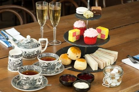 Afternoon Tea with Optional Prosecco or Gin for Two or Four at Paul's Kitchen