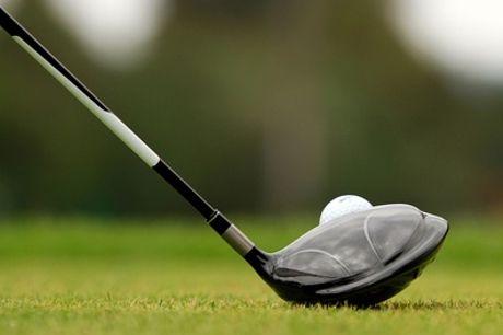 Golfen: 9 of 18 holes shortgolf op een par-3 baan bij Golf4All in Zeewolde vlakbij Harderwijk