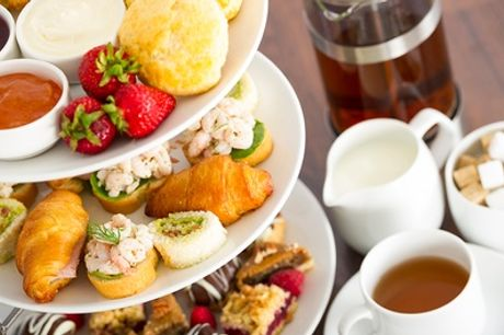 Traditional, Sparkling or Bottomless Afternoon Tea for Two or Four at Best Western Priory Hotel