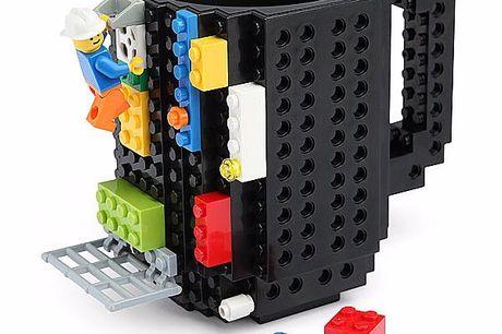 Bouw je eigen koffiemok mok Kan naar eigen wens volledig geconstrueerde worden. Geschikt voor koffie of Thee. Niet geschikt voor de magnetron. Compatible met LEGO, PixelBlocks, Mega Bloks, KRE-O, of K'NEX Bricks.