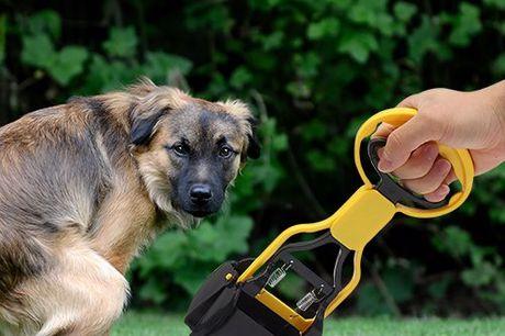 Onmisbaar hondenschepje Draagt bij bij een goede relatie met je buurman. Verwijder op een hygiënische wijze hondenpoep of ander afval. Wordt geleverd inclusief zakjes. Voor meerdere doeleinde inzetbaar. Lekker compact