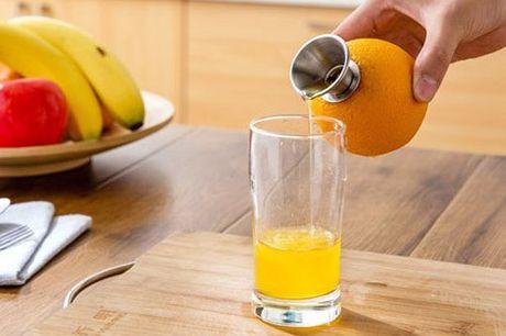 RVS citrusvrucht schenktuit Perfect voor het juist doseren van sap. Een ideaal hulpmiddel voor iedere (professionele) bartender. Haal moeiteloos sap uit alle citrusvruchten. Ook geschikt voor grotere citrusvruchten zoals grapefruits. Volledig gemaakt van