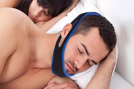 Anti-Snurk Kinband Geen gesnurk meer met deze Anti- Snurken Kinband. De Kinband ondersteunt precies op de juiste plaats je mond en kaak om snurken te voorkomen. Gemaakt van zacht, aangenaam en goede kwaliteit polyester.