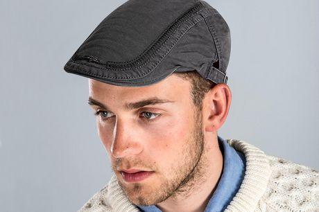 Jamont & Co casual flatcap Hou je hoofd warm met een hippe baretpet. Gemaakt van katoen. Verkrijgbaar in zes verschillende aardse kleuren. Stijlvol, hip en functioneel. Verstelbare gesp.