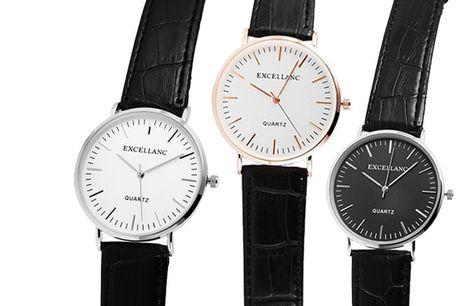 Excellanc herenhorloge - Klassiek en strak design