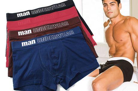 Boxershorts Heren - 4 stuks - Katoen - In Luxe Geschenkdoos