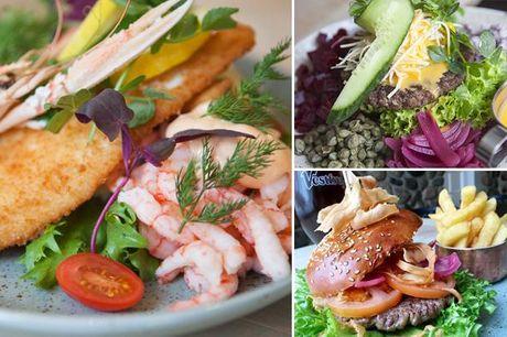Få frit valg mellem 4 forrygende frokostretter hos Restaurant Roulv på Marcussens Hotel i Assens