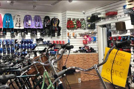 Er din cykel sikker? - Serviceeftersyn af din cykel hos H. C. Andersen Cykler i Kbh., værdi kr. 299,-