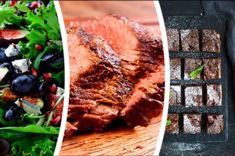 Med lækker mad fra Richmond Catering bliver din fest en sikker succes! - All Seasons Buffet fra Richmond Catering, tilbud gældende ved køb af min. 10 kuverter, værdi kr. 299,- pr. kuvert.
