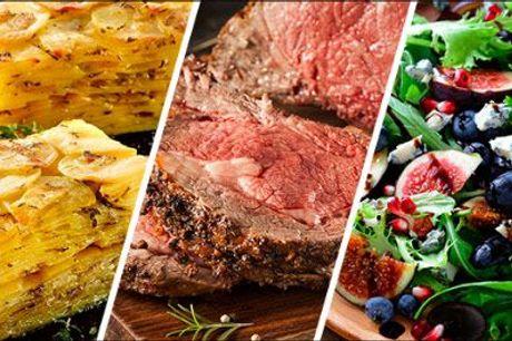 Lad professionelle klare maden til din næste fest! - EKSKLUSIV BUFFET fra Richmond Catering, tilbud gældende ved køb af min. 10 kuverter, værdi kr. 299,- pr. kuvert.