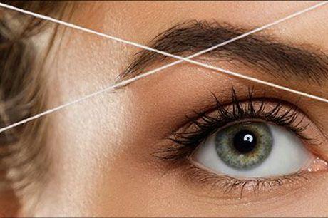 Skånsom, flot resultat og glat overflade - gode fordele vi kan lide ♥ - Hårfjerning med tråd hos Hair & Care, vælg ml. 2 tilbud, værdi op til kr. 399,-