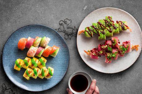 Kun i dag! Bluefin: Oplev en smagsfusion af frisk sushi & gin cocktails.