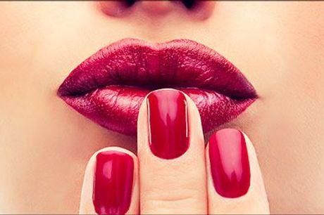 Smukke og holdbare negle! - Køb lækker Manicure og shellak hos Glory Nails by Maria, værdi kr. 550,-
