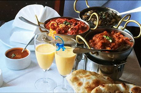 Lækker luksus minibuffet på Restaurant Maharaja.. - LUKSUS MINIBUFFET for 1 person på Restaurant Maharaja Østerbro, værdi kr. 350