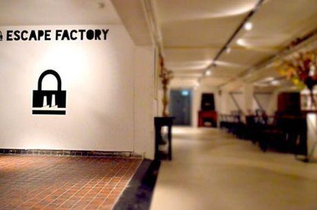 Escape Factory: escaperoom met pizza in Amsterdam-Noord