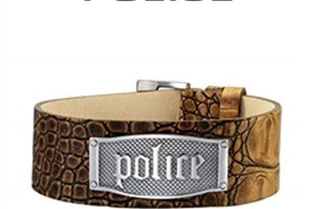 Pulseira Police® PJ.21321BLC/05 | 17cm - 21cm por 28.38€ PORTES INCLUÍDOS