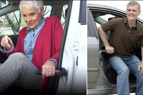 Hjælpemiddel til ældre og andre med behov - Få 1 stk. Car Cane - skridsikker greb forhandlet fra The 99 inspirations. Et hjælpemiddel til dig, som har brug for det, værdi kr. 359,-