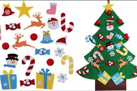 Jule dekorationssæt til børn! - Få et super fint juletræs dekorationssæt forhandlet fra The 99 inspirations, rigtig god gaveidé til dine børn, værdi kr. 559,-