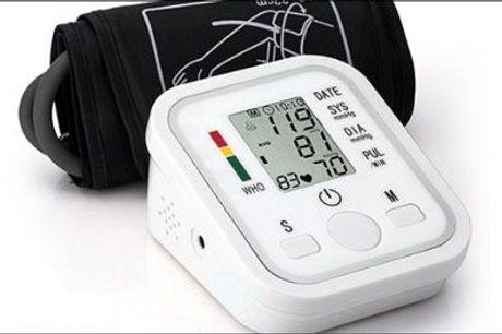 Har du for højt blodtryk ... uden du ved det? - 1 stk. blodtryksmåler fra The 99 inspirations, værdi kr. 799,-