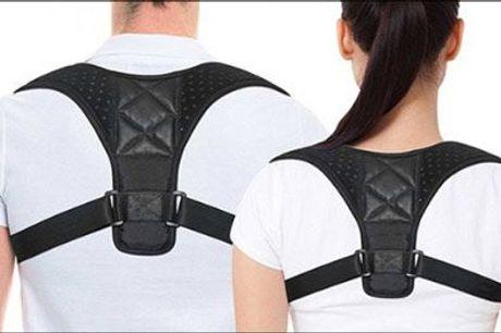 Få den korrekte kropsholdning og forebyg dårlig ryg! - Justerbar rygstøtte fra The 99 inspirations, værdi kr. 419,-