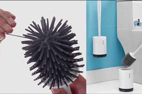 Forbedr hygiejnen på toilettet! - 1 stk. antibakteriel toiletbørste fra Shoppio, værdi kr. 299,-