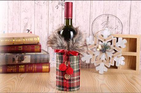 Skal det være ekstra festligt? - Vinfrakke, vælg ml. 2 modeller - forhandlet af Try Us, normalpris op til kr. 154,-