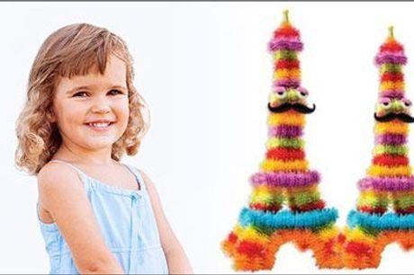 Skab dine helt egne yndlings figurer! - Frizzy Creations Mega pack inkl. fragt, værdi kr. 280,-