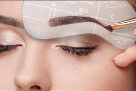 Vejen til perfekte øjenbryn! - Eyebrow kit fra GMF Distribution, værdi kr. 120,-