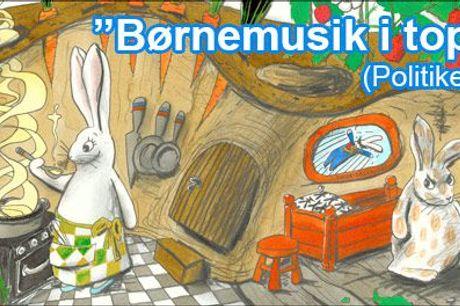 Hør historien om Prikken, Stampe og Bøtte - til børn i alderen 3-7 år! - Bog + CD med Paprika Steen og Martin Brygmann fra Rabbitrecords.dk, værdi 231