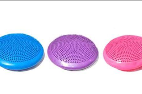 Stimulerer balance, motorik og koncentrationen - Ergonomisk siddepude, inkl. fragt, værdi kr. 250,-