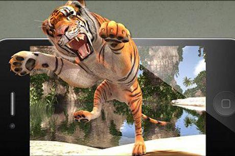 Få din helt egen tiger…...med hjem i stuen! - Interaktiv bog - SAMMEN MED TIGEREN - fra Easylearn.dk, værdi kr. 329,-