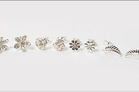 Sterling sølv ørestikkere forhandlet af Beautidesign - Kønne sølv ørestikkere inklusiv fragt, værdi kr. 298