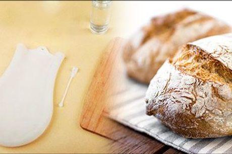 Friskbagt brød på den hurtige måde - Happy Diy dej-ælte pose - Happy Diy dej-ælte pose, inklusiv fragt, værdi kr. 274,-