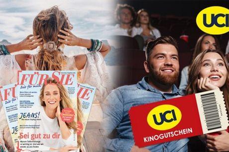 """Jahres-Abo der Zeitschrift """"Für Sie"""" + UCI Kino-Gutschein (89% sparen*)"""
