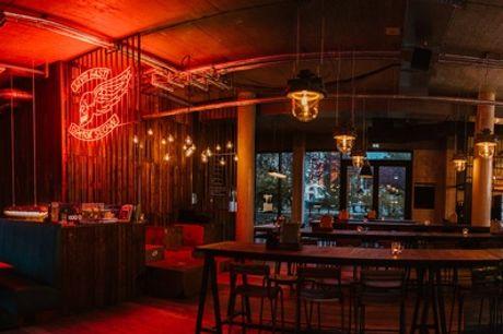 Je 1x 0,5 l Craft Beer und 1 Pizza, für 1 bis 4 Personen, bei BREWDOG in Berlin Mitte (bis zu 47% sparen*)