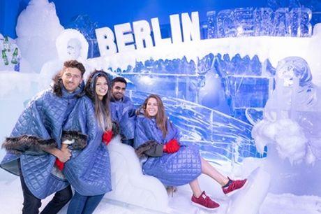 Ticket für die Berlin Ice Bar und 3 Getränken für 1 Person (33% sparen*)