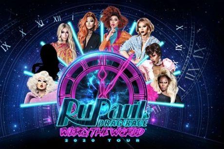 """1 Ticket für die """"RuPaul's Drag Race World Tour"""" ab 30.05. in Hamburg, Berlin und Köln (bis zu 32% sparen)"""