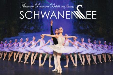 """2 Tickets für """"Schwanensee"""" ab 9. Dezember u. a. in Berlin, Hamburg, München und Halle (bis zu 44% sparen)"""