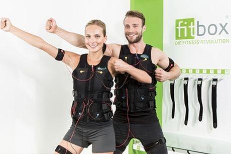 20 Min. EMS-Training inkl. Leihbekleidung bei fitbox Berlin Gleimkiez (bis zu 84% sparen*)