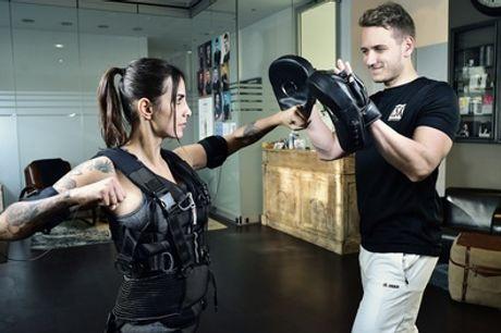 2x oder 4x EMS-Training inkl. Equipment und Verpflegung bei T.SX Body Concept (bis zu 81% sparen*)