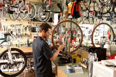 Inspektion für ein Fahrrad inkl. Kleinreparaturen in der Fahrrad Garage (bis zu 75% sparen*)