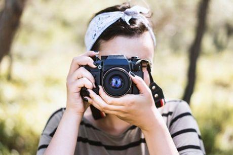 3. Std. Foto-Workshop & Photowalk Outdoor fur 1 oder 2 Pers. bei Photographer David Hanykyr (bis zu 54% sparen*)